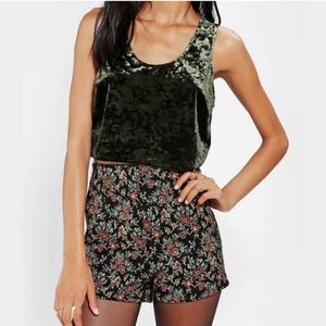 Band of Gypsies Crushed Velvet Crop